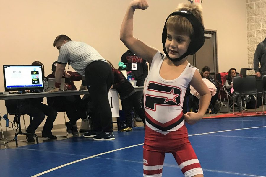 Why wrestling is great for kids!