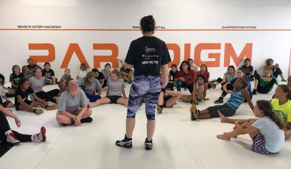 """Wrestle Like a Girl"" Camp Inspires Female Wrestlers"